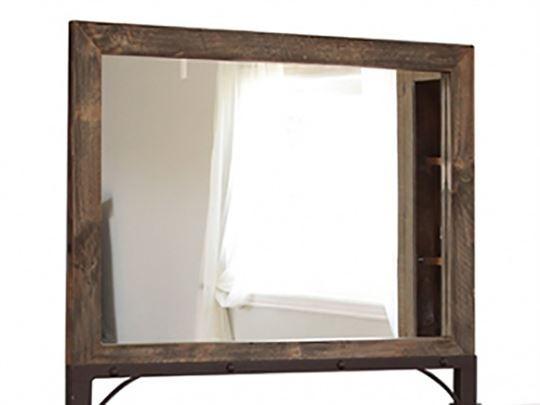IFD Antique Mirror - IFD Antique Mirror IFD966-MIRR Mirrors I Keating Furniture World
