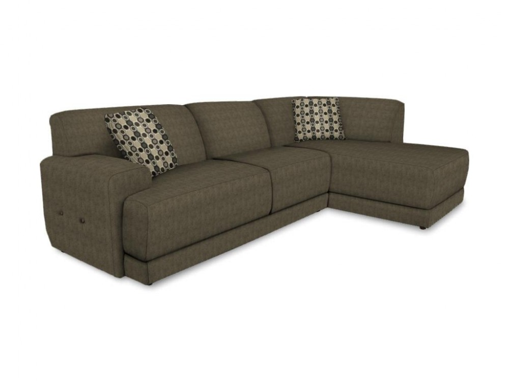 England Cole Pewter Sectional 2880 Corpew Sect