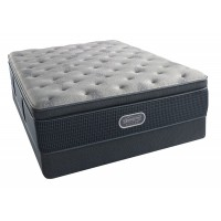 Charcoal Coast Plush Summit Pillow Top