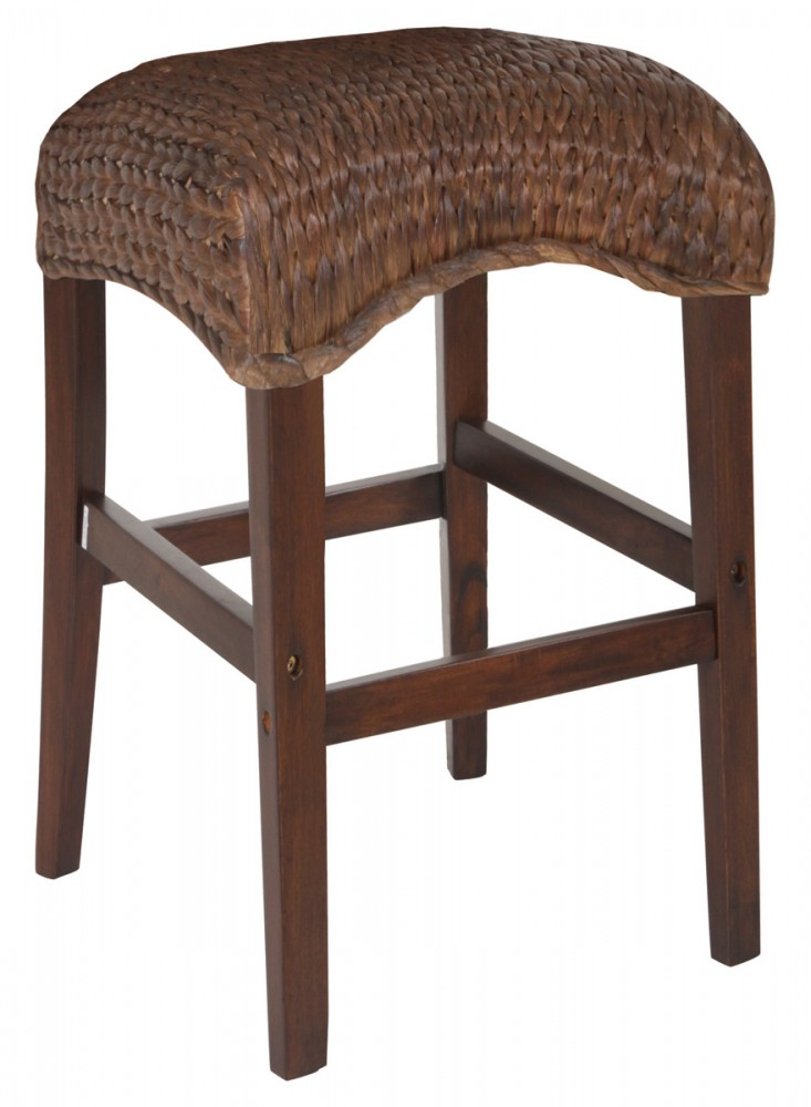 Banana Leaf Counter Height Stool 101098 Bar Stools