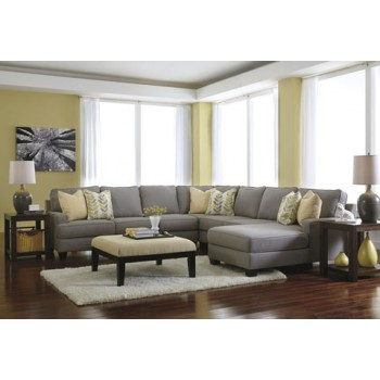 Chamberly - Alloy 5 Pc. Corner Chaise Sectional