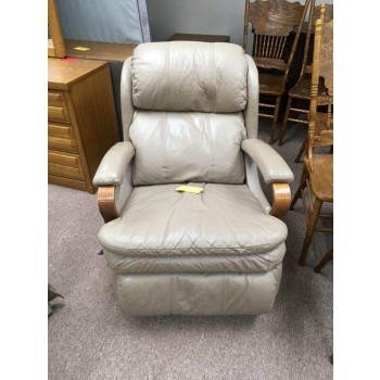 Wood Arm Rocker Recliner