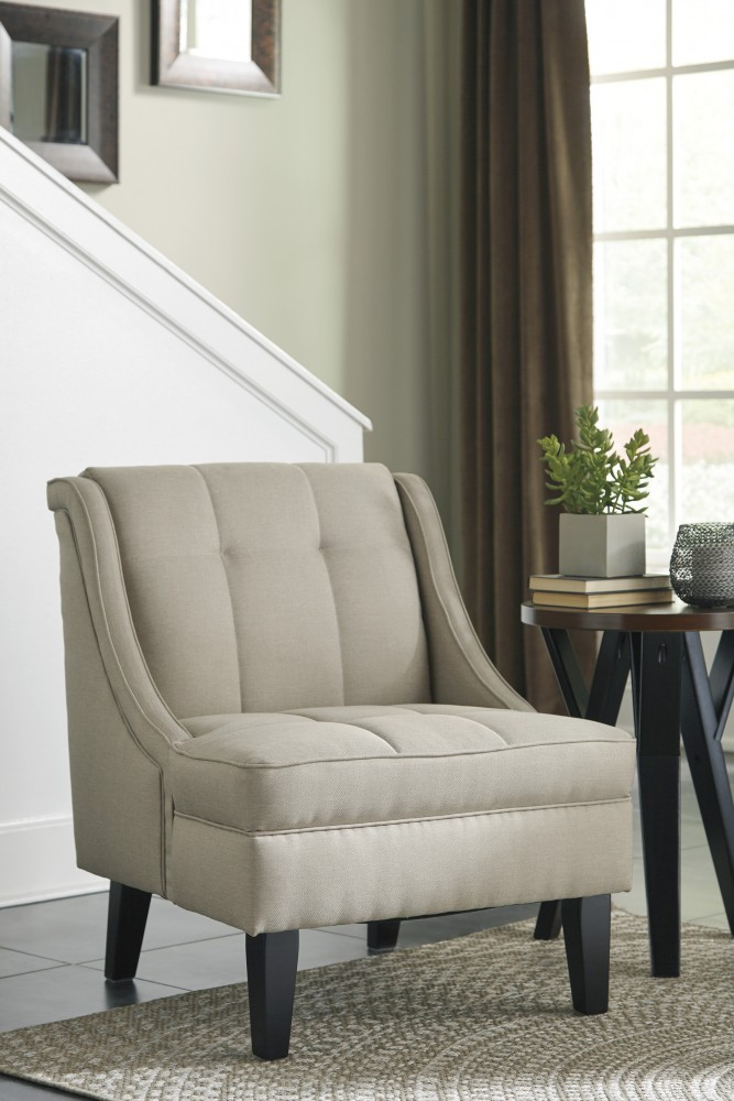 Calicho - Ecru - Accent Chair