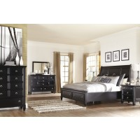 Greensburg 5 Pc. Bedroom - Dresser, Mirror & Queen Sleigh Bed with Storage