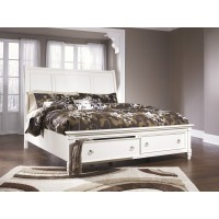 Prentice Queen Sleigh Bed with Storage