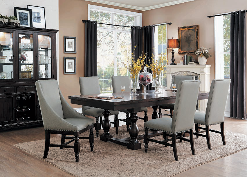 High Quality Lucia 7 PC Dining Set Amazing Pictures