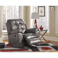 Alliston DuraBlend® - Gray - Rocker Recliner