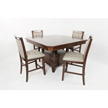Manchester Highlow Dining Table With Four Stools Dining Room Mesmerizing Low Dining Room Table