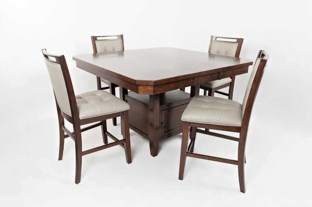 Beautiful Manchester High/low Dining Table With Six Stools