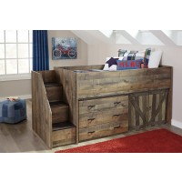 Trinell - Brown - Twin Loft Complete Bed
