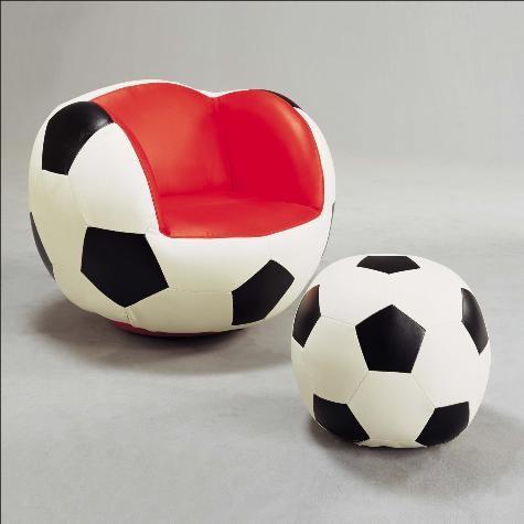Fabulous Crown Mark Kids Soccer Chair Ottoman Pdpeps Interior Chair Design Pdpepsorg