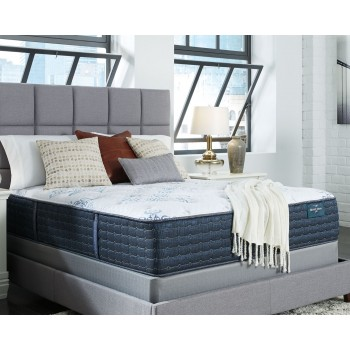 Mt. Dana Firm - White - King Mattress