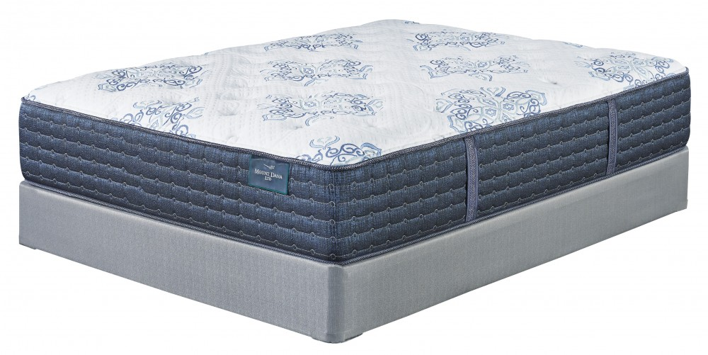 Mt. Dana Firm - White - California King Mattress