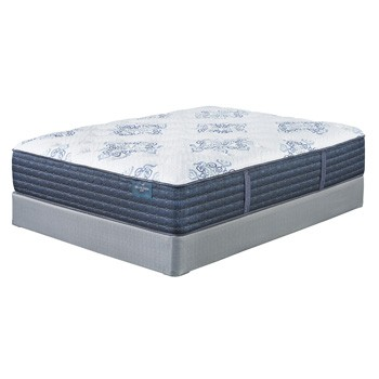 Mt. Dana Plush - White - California King Mattress