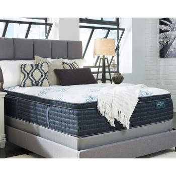 Mt. Dana Euro Top - White - Twin Mattress