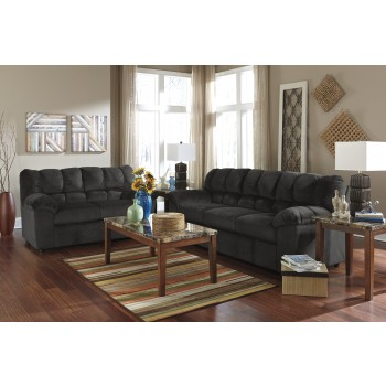 Julson - Ebony - Sofa & Loveseat