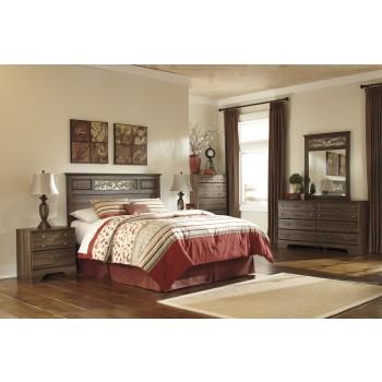 Allymore 3 Pc. Bedroom - Dresser, Mirror & Queen/Full Panel Headboard