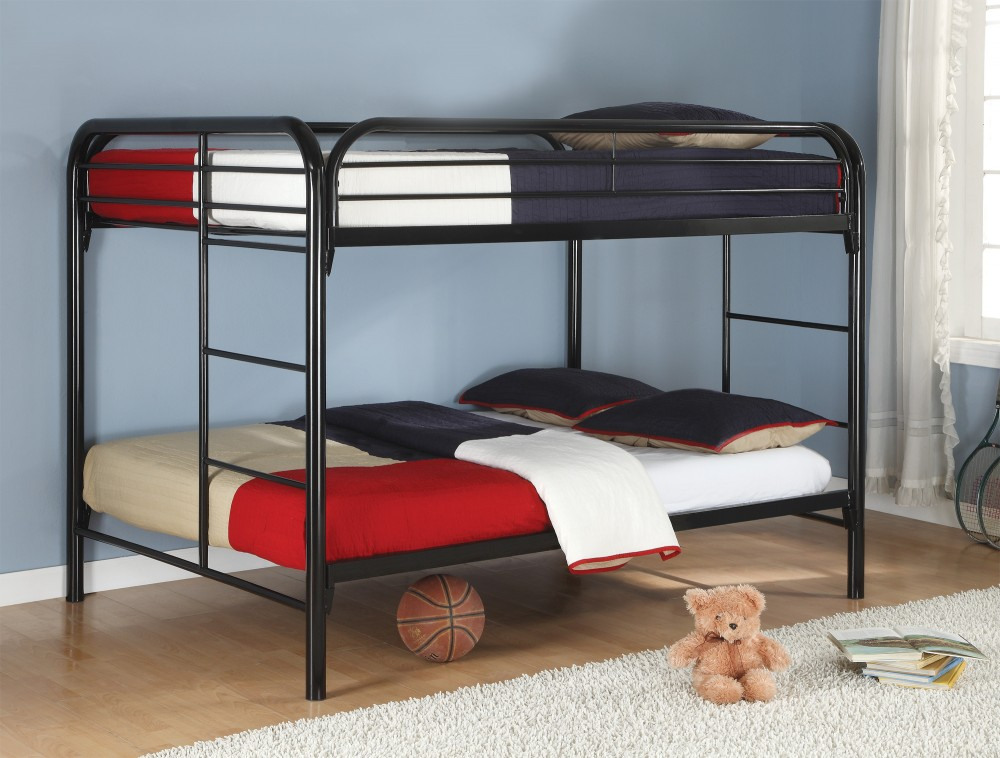Full/full Bunk Bed (black) - 460056K