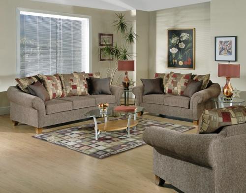 Tahoe Bark Living Room Group