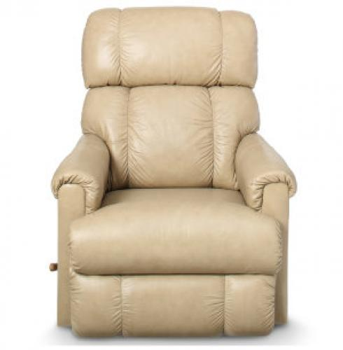Pinnacle Ellis Almond Leather Reclina-Rocker