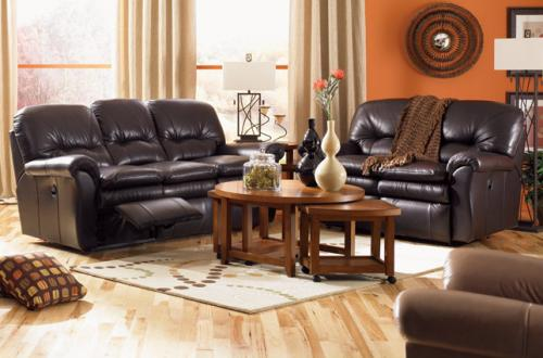 Gavin Leather Reclining Living Room Group