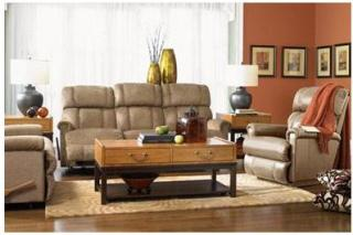 Pinnacle Leather Recliner and Loveseat