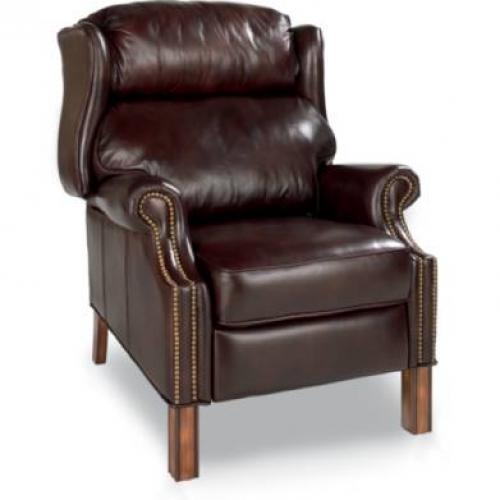 Calloway Leather High Leg Recliner
