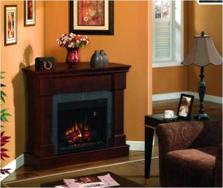 Franklin Electric Fireplace Mantel.