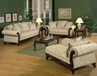 Momentum Beige Living Room Group