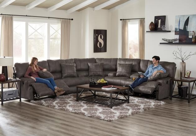 Lay Flat Reclining Sofa | 2181 | Reclining Power Sofa | Guynn Furniture