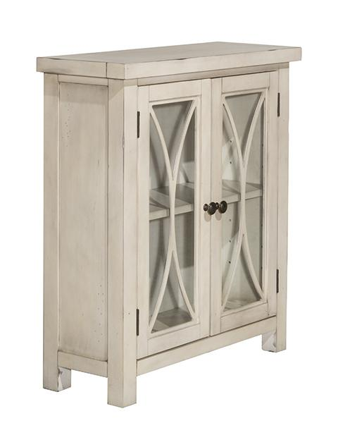 Bayside 2 Door Cabinet - Antique White - Bayside 2 Door Cabinet - Antique White 6278891C Curio Cabinets