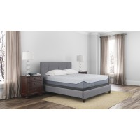 Loft and Madison 13 Firm - White - California King Mattress