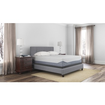 Loft and Madison 15 Plush - White - King Mattress