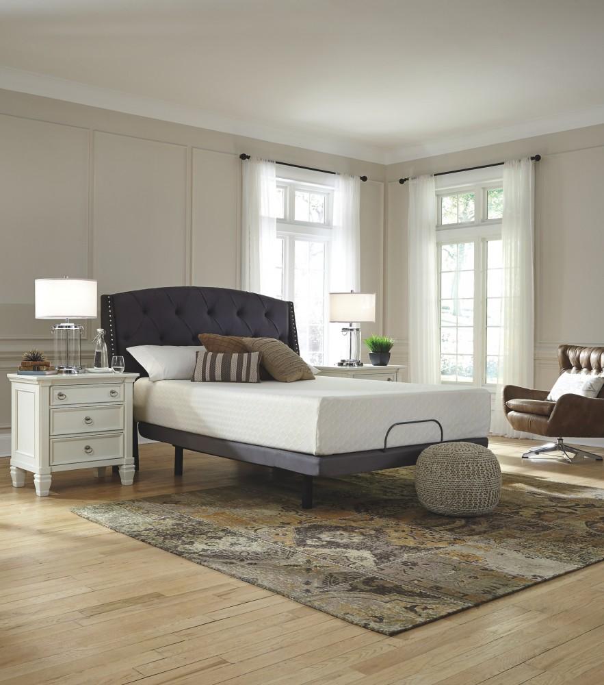 chime 12 inch foam mattress white full mattress m72721 memory foam mattresses limerick. Black Bedroom Furniture Sets. Home Design Ideas