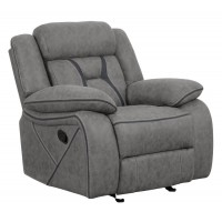 HIGGINS MOTION COLLECTION - Houston Casual Stone Glider Recliner