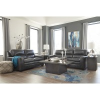 Gleason - Charcoal - Sofa & Loveseat