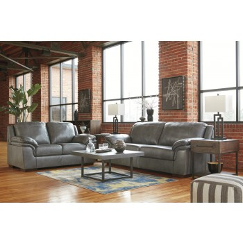 Islebrook - Iron - Sofa & Loveseat