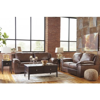 Islebrook - Canyon - Sofa & Loveseat