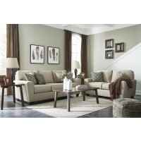 Calicho - Ecru - Sofa & Loveseat