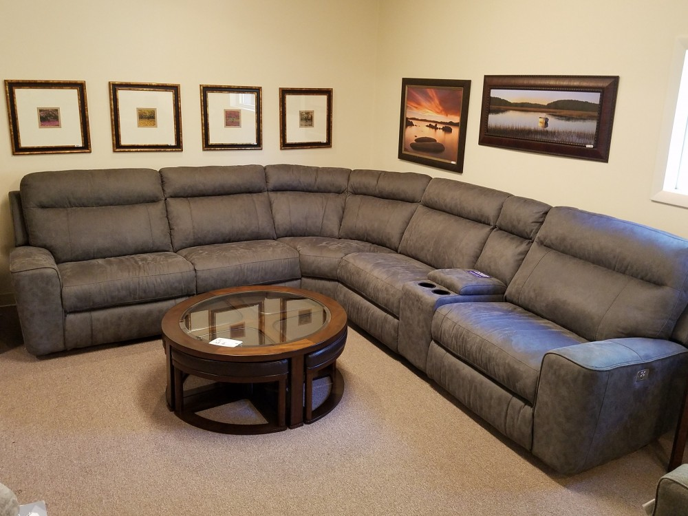 Cheers 5192 Sectional 5192 Reclining Power Sectional