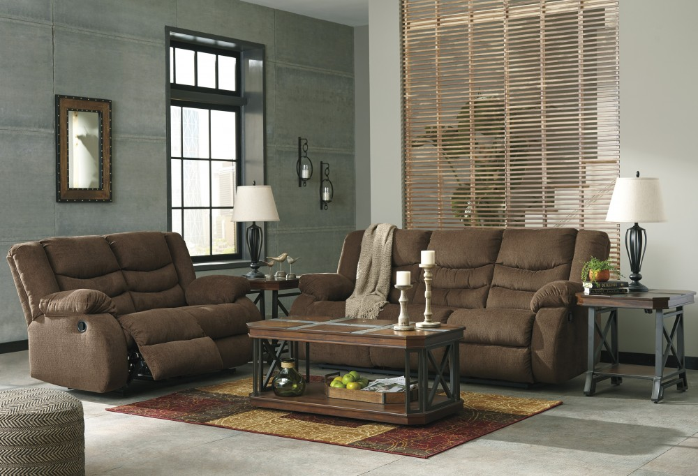 Admirable Tulen Chocolate Reclining Sofa Loveseat Andrewgaddart Wooden Chair Designs For Living Room Andrewgaddartcom
