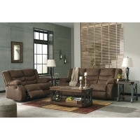 Tulen - Chocolate - Reclining Sofa & Loveseat
