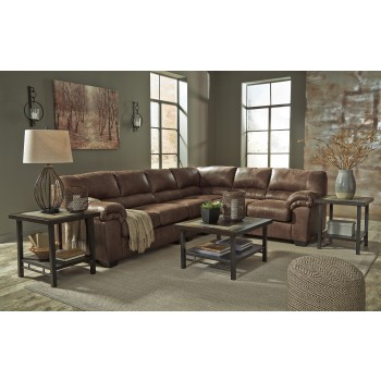 Bladen - Coffee 3 Pc. RAF Sofa Loveseat