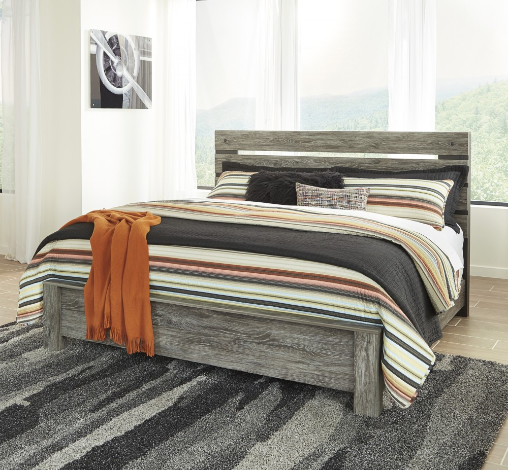 cazenfeld king panel bed - King Panel Bed