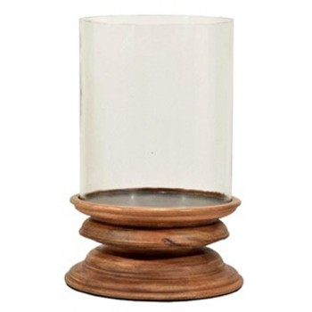 Dougal - Brown - Candle Holder