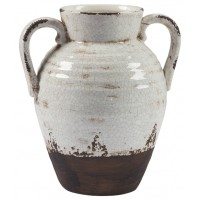 Dion - Distressed White - Vase