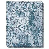 Esther - Teal/White - Wall Art
