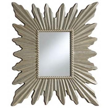 Antonia - Antique Silver Finish - Accent Mirror