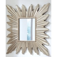 Antonia - Antique Silver Finish - Accent Mirror