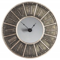 Peer - Champagne/Black - Wall Clock